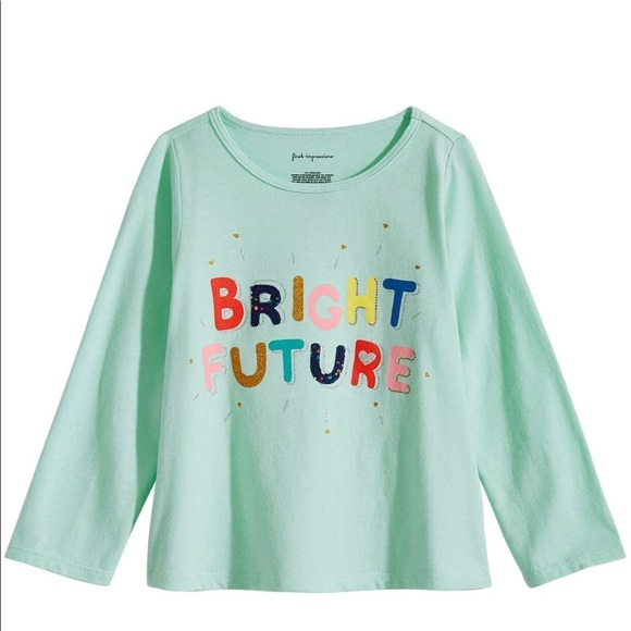 First Impressions Other - First Impressions Baby Girls Bright Future T-Shirt